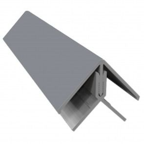 Weatherboard Cladding Two Part External Corner - Storm Grey