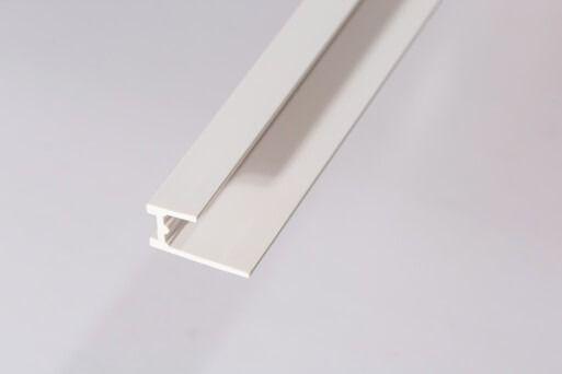 Bathroom & Shower Cladding Aqua1000 PVC Base Seal Trim - 2400mm x 10mm White