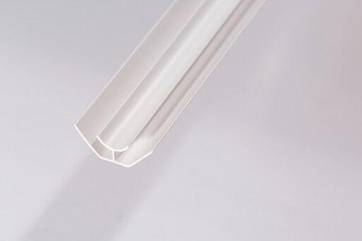 Bathroom & Kitchen Cladding Aqua200/250 PVC Internal Corner - 2700mm White