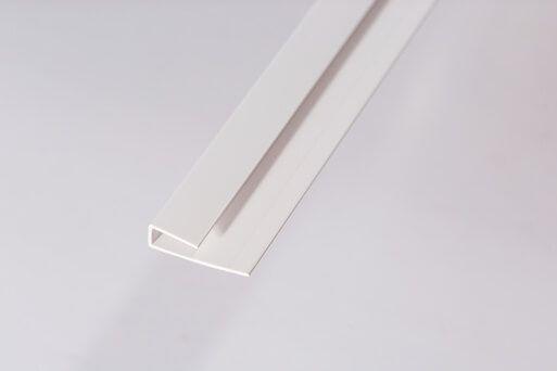 Bathroom & Kitchen Cladding Aqua200/250 PVC Starter/Edge Trim U Channel for Wall/ Ceiling - 2700mm White
