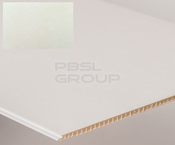 Bathroom & Kitchen Cladding Aqua250 PVC Panel - 250mm x 2700mm x 5mm Frosted - Pack of 4