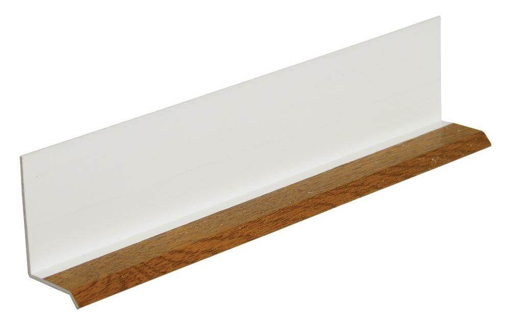 Shiplap Cladding Drip Trim - 5mtr Golden Oak
