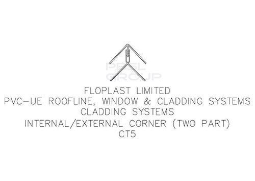 Shiplap Cladding External Corner - 5mtr Rosewood