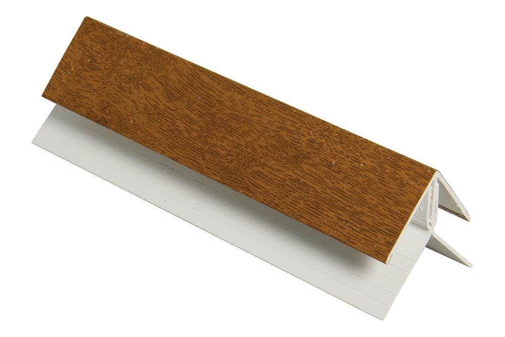 Shiplap Cladding Internal Corner - 5mtr Golden Oak