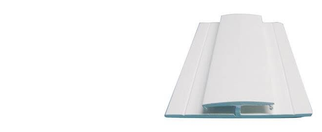 Hygiene Cladding Joint Strip - for 2-3mm Sheets x 3mtr Length White