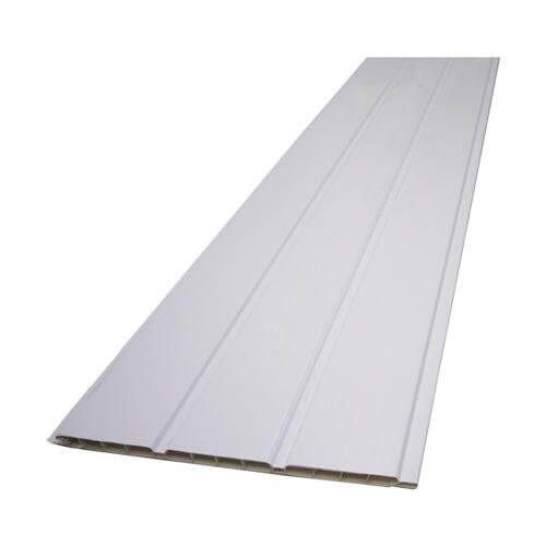 Hollow Soffit Board - 300mm x 10mm x 5mtr White