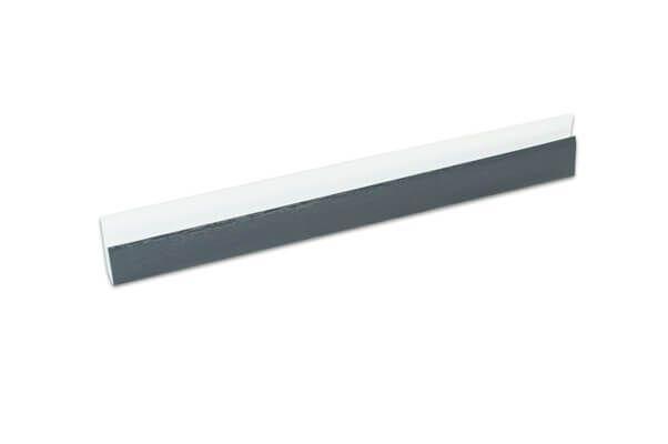 Hollow Soffit J Trim - 5mtr Anthracite Grey Woodgrain