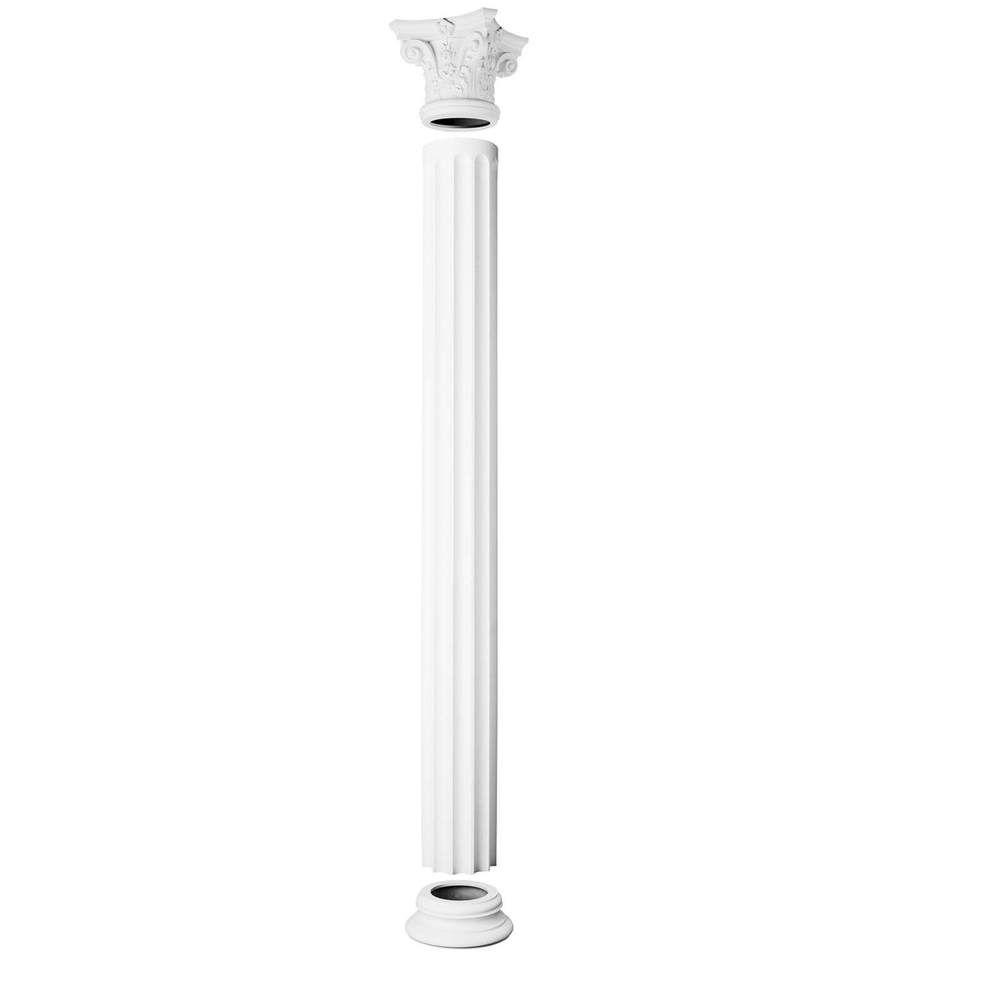 Column Corinthian - White