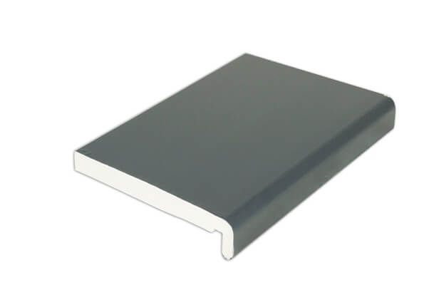 Replacement Fascia - 225mm x 18mm x 5mtr Anthracite Grey Woodgrain