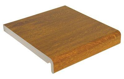 Replacement Fascia - 250mm x 18mm x 5mtr Golden Oak