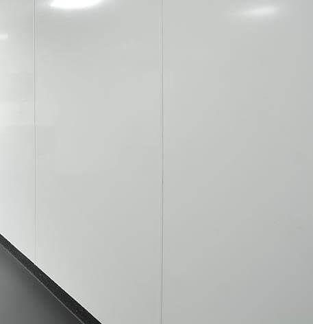 Foamed PVC Hygiene Cladding Sheet - 1220mm x 2440mm x 10mm Gloss White - Pack of 5