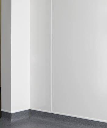 Matt Foamed PVC Hygiene Cladding Sheet - 1220mm x 2440mm x 10mm Smooth Matt White
