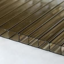 Polycarbonate Sheet Twinwall - 10mm x 1200mm x 3mtr Bronze