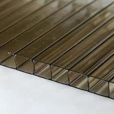 Polycarbonate Sheet Twinwall - 10mm x 2100mm x 2mtr Bronze
