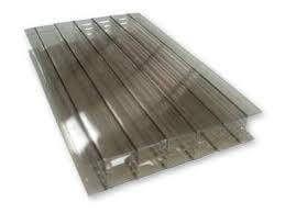 Polycarbonate Sheet Multiwall - 25mm x 1000mm x 2mtr Bronze