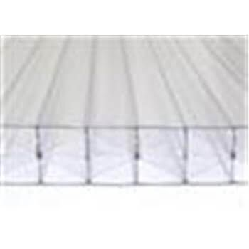 Polycarbonate Sheet Multiwall - 35mm x 1050mm x 2mtr Clear