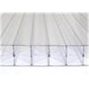 Polycarbonate Sheet Multiwall - 35mm x 1050mm x 3mtr Clear