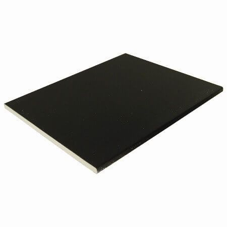 Soffit Board - 304mm x 10mm x 5mtr Black Ash Woodgrain - OUT OF STOCK