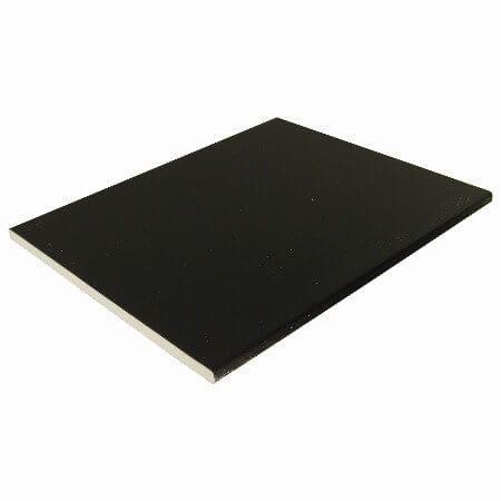 Soffit Board - 404mm x 10mm x 5mtr Black Ash Woodgrain