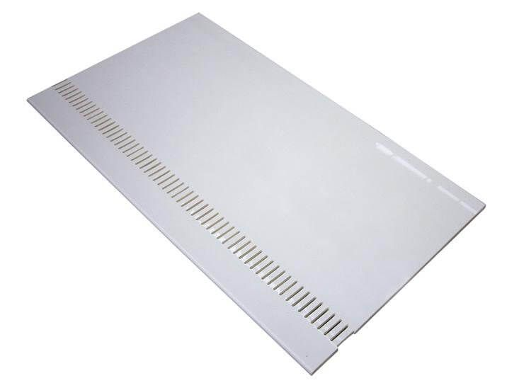 Vented Soffit Board - 100mm x 10mm x 5mtr White