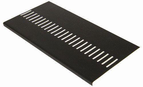 Vented Soffit Board - 404mm x 10mm x 5mtr Black Ash Woodgrain