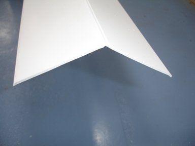 PVC Flexible Angle - 35mm x 5mtr White