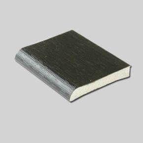 PVC D Section - 28mm x 5mtr Black Ash