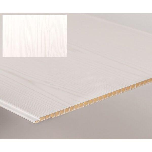 Bathroom & Kitchen Cladding Aqua250 PVC Panel - 250mm x 2700mm x 5mm Wood Matt - Pack of 4