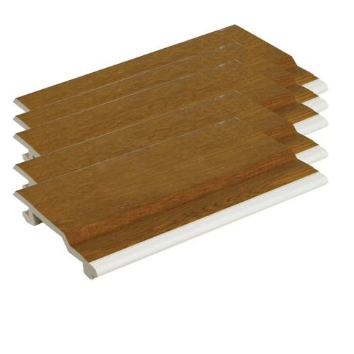 V Joint Cladding - 100mm x 5mtr Golden Oak - Pack of 5