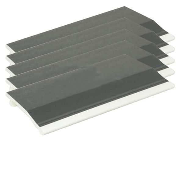 Shiplap Cladding - 150mm x 5mtr Anthracite Grey Woodgrain - Pack of 5 - OUT OF STOCK