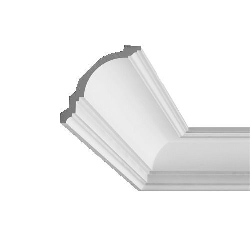 Cornice Moulding Axxent Collection - 2000mm x 118mm x 117mm Oxford Style White