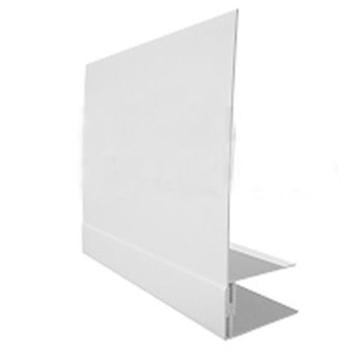 Weatherboard Cladding Reveal Liner Trim - 3mtr White
