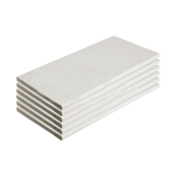 Soffit Board - 100mm x 10mm x 5mtr White - Pack of 6