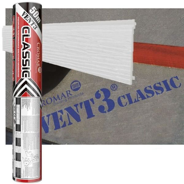 Breather Membrane Vent 3 Classic - 1mtr x 25mtr x 115gsm - OUT OF STOCK