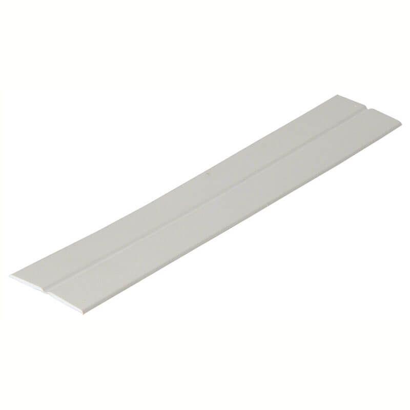PVC Flexible Angle - 25mm x 5mtr White
