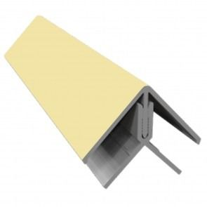 Weatherboard Cladding Two Part External Corner - Sand