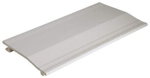 Shiplap Cladding - 150mm x 5mtr White - OUT OF STOCK