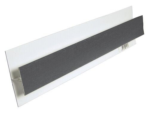 Shiplap Cladding Centre Joint Trim - 5mtr Anthracite Grey Woodgrain