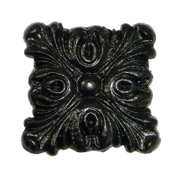 Gutter Motif Square Decorative - Standard 52mm Cast Iron Effect - OUT OF STOCK