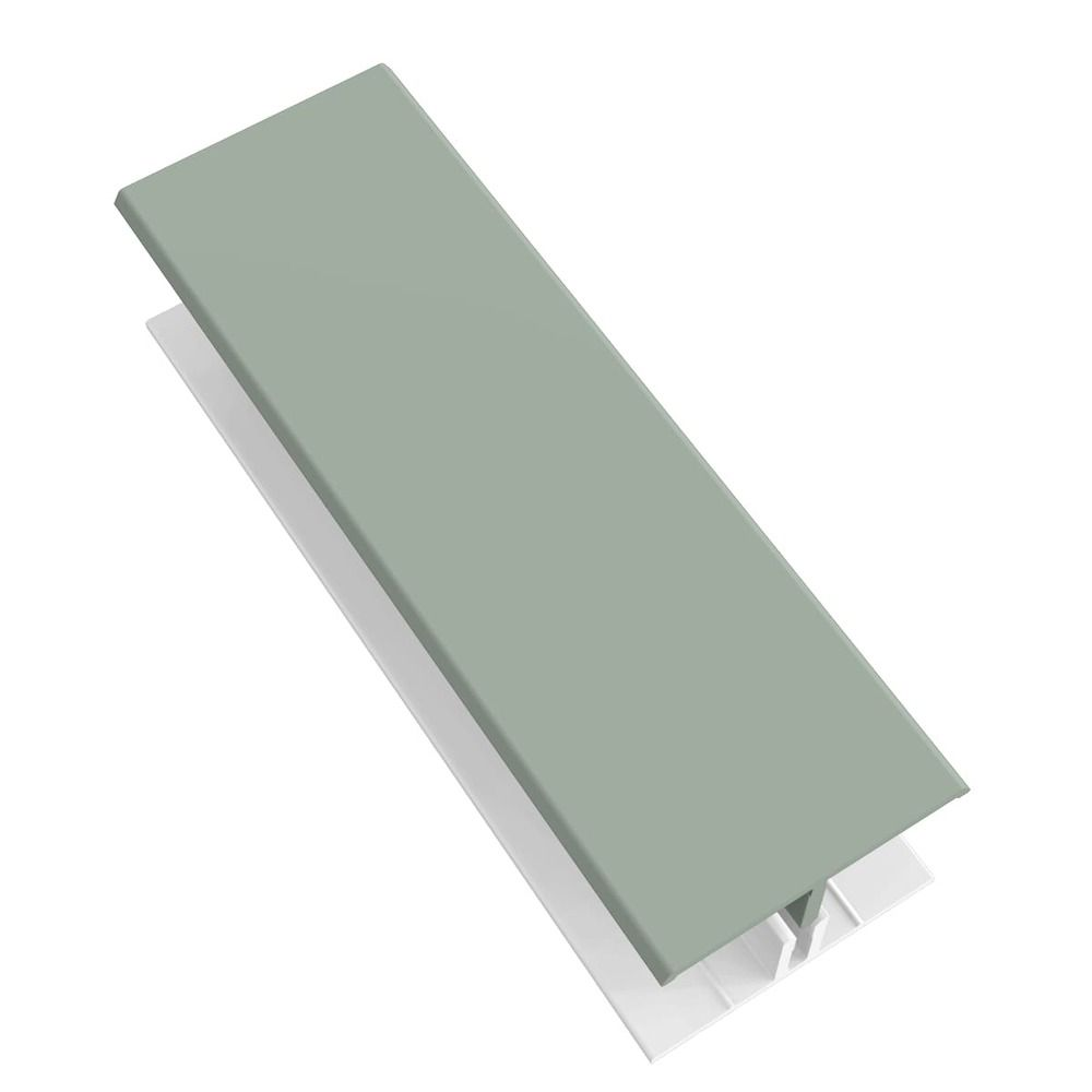 Weatherboard Cladding Two Part H Trim - 3mtr Sage Green