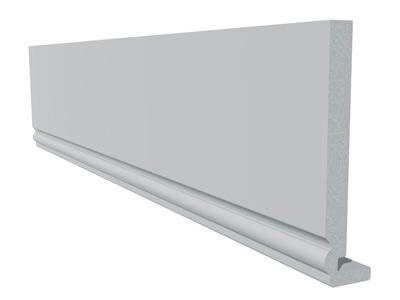 Ogee Fascia - 225mm x 18mm x 5mtr White
