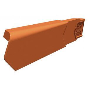 Dry Verge Unit Right Hand - Terracotta