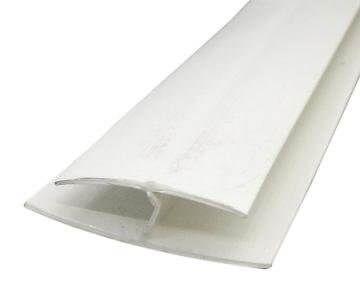Hollow Soffit H Trim - 5mtr White
