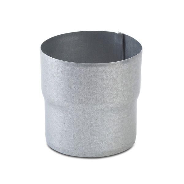 Steel Downpipe Connector - 100mm Galvanised