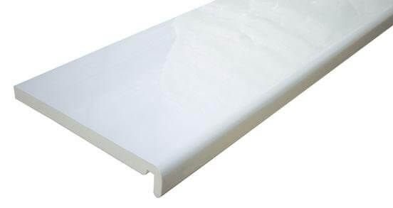 Replacement Fascia - 225mm x 18mm x 5mtr White
