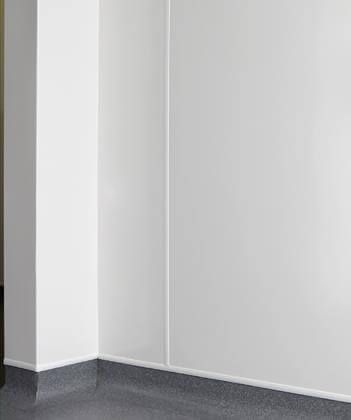 Matt Foamed PVC Hygiene Cladding Sheet - 1220mm x 2440mm x 10mm Smooth Matt White