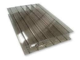 Polycarbonate Sheet Multiwall - 25mm x 800mm x 4mtr Bronze