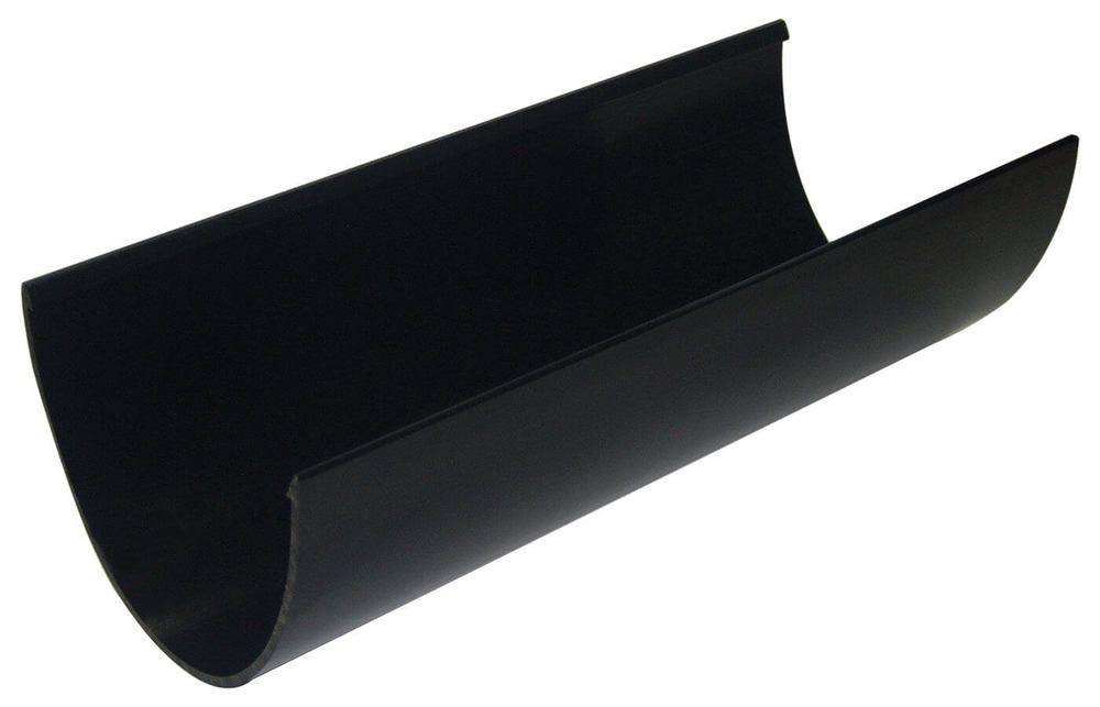 Deepflow/ Hi-Cap Gutter - 115mm x 75mm x 4mtr Black - OUT OF STOCK