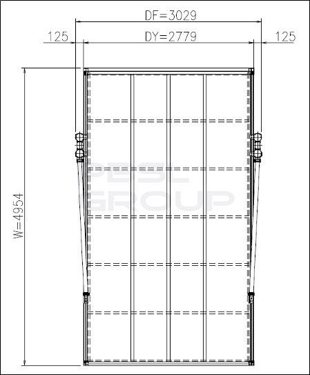 Typhoon RSC Carport - 5mtr Length x 2.7mtr Width Silver - OUT OF STOCK