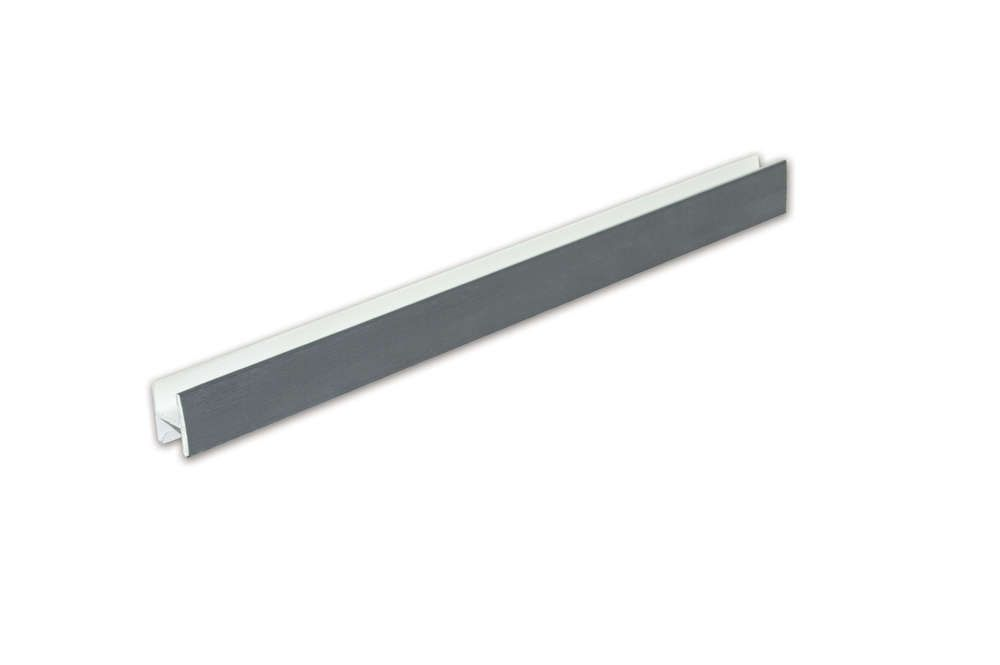 Soffit Joint Trim - 5mtr Anthracite Grey Woodgrain